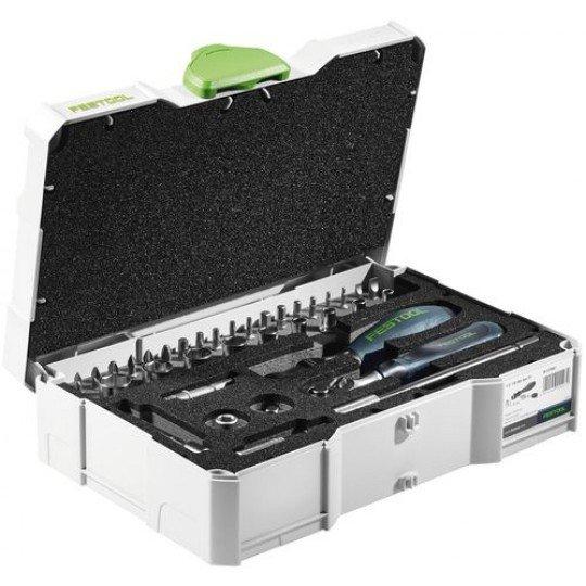 """Festool Racsnis dugókulcs-készlet 1/4""""-CE RA-Set 36"""