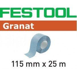 Festool StickFix csiszolóaszalag tekercs 115x25m P120 GR