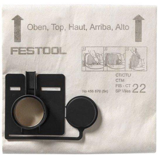 Festool Szűrőzsák FIS-CT 33 SP VLIES/5