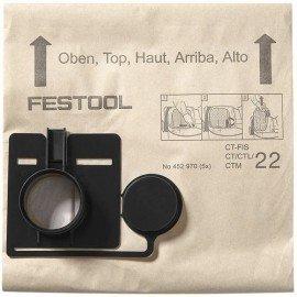 Festool Szűrőzsák FIS-CT 44/5