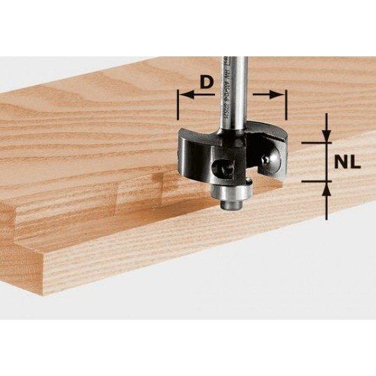 Festool Terelőlap-élmaró HW 8 mm-es szár HW S8 D38/12