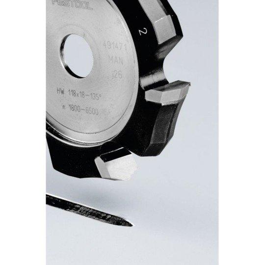 Festool V-horonymaró HW 118x18-135°/Alu